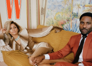 W Magazine 2021 cover with Zendaya Coleman and John David Washington