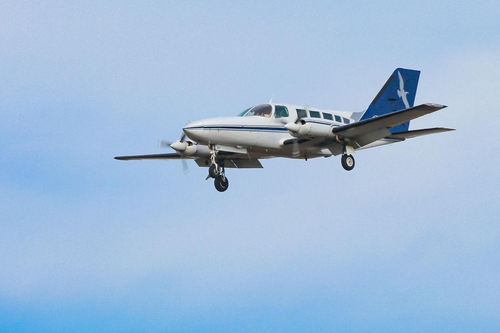 Cape Air Aircraft Landing At JFK In New Jork