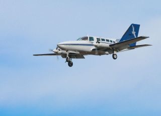 Cape Air Aircraft Landing At JFK In New Jork