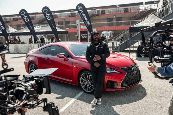 Images from Lexus' 0-60 competition