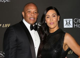 Dr.Dre and Nicole Young