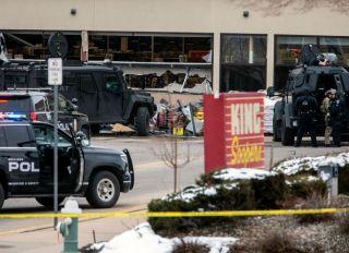 Boulder Colorado Shooting Scene