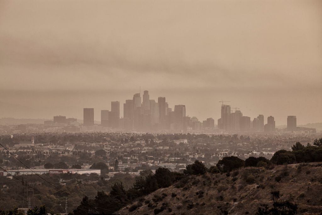 In early September 2020, Los Angeles was blanketed each day with smoke and ash from nearby wildfires.