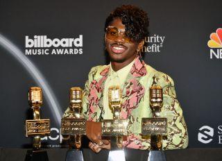 Lil Nas X at the 2020 Billboard Music Awards