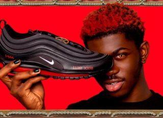 Lil Nas X Satan Shoes