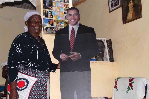 Sarah Obama Onyango, 87, the paternal grandmother of U.S. De