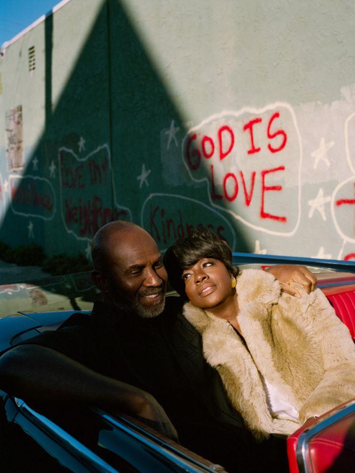 Regina King directs Viola Davis Julius Tennon and Genesis Tennon for W Magazine