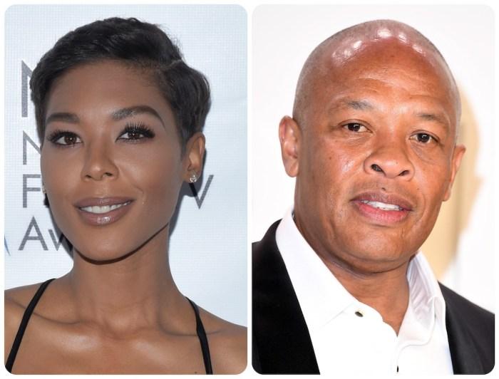 Moniece Slaughter speaks on alleged Dr. Dre threats
