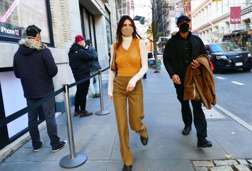 Celebrity Sightings In New York City- November 20, 2020