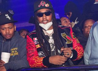 Takeoff at Offset's Birthday Party
