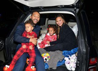 Chrissy Teigen and John Legend With Kids