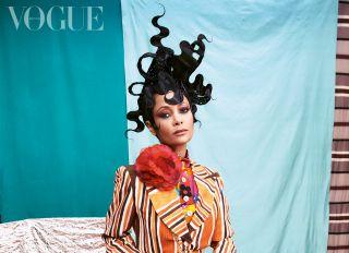 Thandiwe Newton for British Vogue
