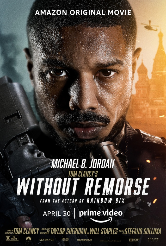 Without Remorse Key Art featuring Michael B. Jordan