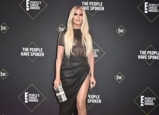 Khloe Kardashian at the E! People's Choice Awards