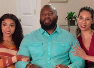 "Kaleh, Jarod Clark and Vanessa Clark from TLC's ""Seeking Sister Wife"""