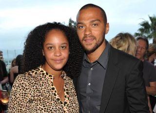 Jesse Williams and Aryn Drake Lee