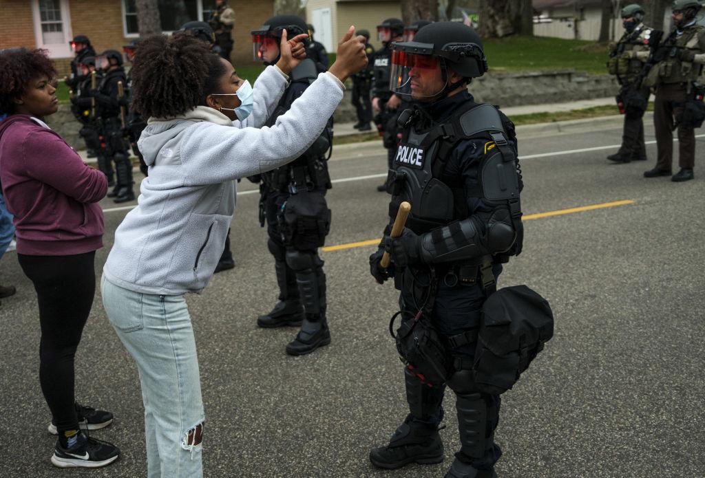 Police Shooting Near Minneapolis Sparks Protest