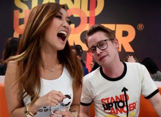 Brenda Song and Macaulay Culkin