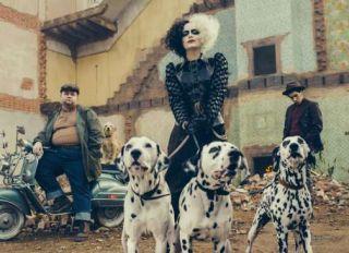 Emma Stone as Cruella in Disney's live-action CRUELLA