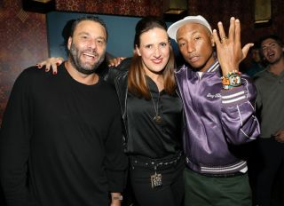 Pharrell Williams and David Grutman