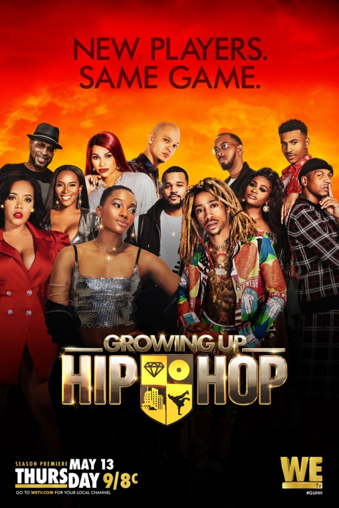 Growing Up Hip Hop Key Art