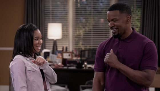 "BOSSIP Exclusive: Jamie Foxx & Kyla-Drew Talk Netflix Sitcom ""Dad Stop Embarrassing Me,"" Their Daddy-Daughter Shenanigans & More!"