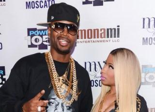 Safaree and Nicki Minaj
