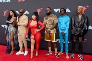 Cast of Black Ink Crew at the 2019 MTV Video Music Awards