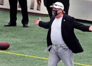 Mark Davis of the Las Vegas Raiders