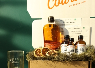 Bulleit x American Forests Earth Day kit assets