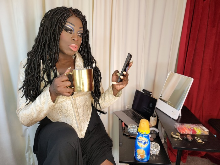 She's A Winner, Baby! 'International Delight' Diva Bob The Drag Queen Will 'Eat Her Wig' If Symone Doesn't Win #DragRace