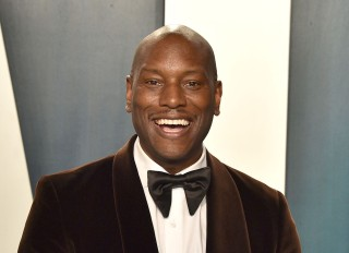 Tyrese at Vanity Fair Afterparty