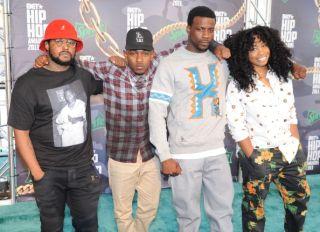 TDE at the BET Hip Hop Awards 2013