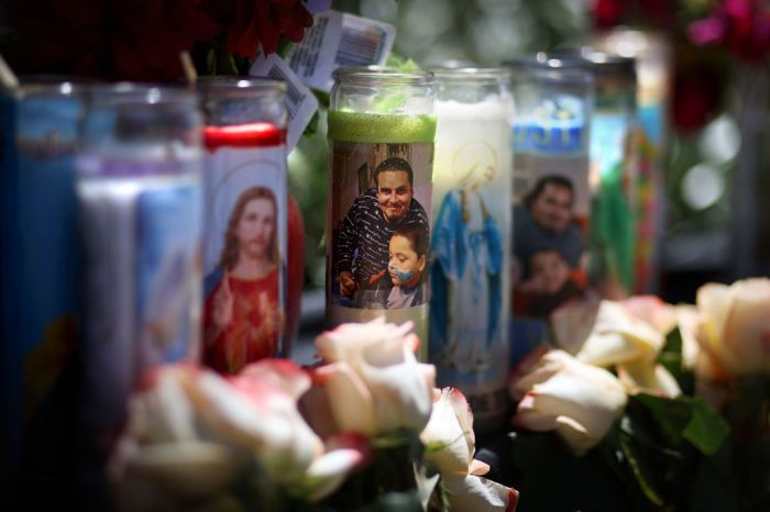 Memorial In Alameda Marks Spot Where Mario Gonzalez Was Killed By Police