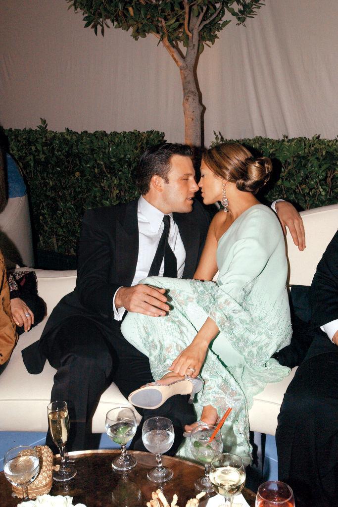 Ben Affleck, Jennifer Lopez 'Vanity Fair' Oscars Party Morton's , Beverly Hills, CA March 23, 2003