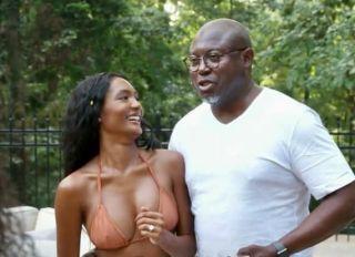Falynn and Simon Guobadia onReal Housewives of Atlanta