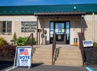 Voting Center In Danville Pennsylvania