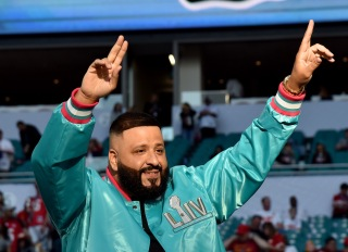 DJ Khaled at the Super Bowl LIV Pregame