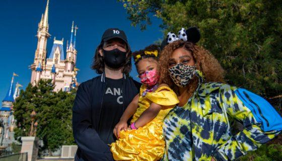 Preciousness: Serena Williams And Alexis Ohanian Bring Olympia To Disney World During Fun Family Vacay