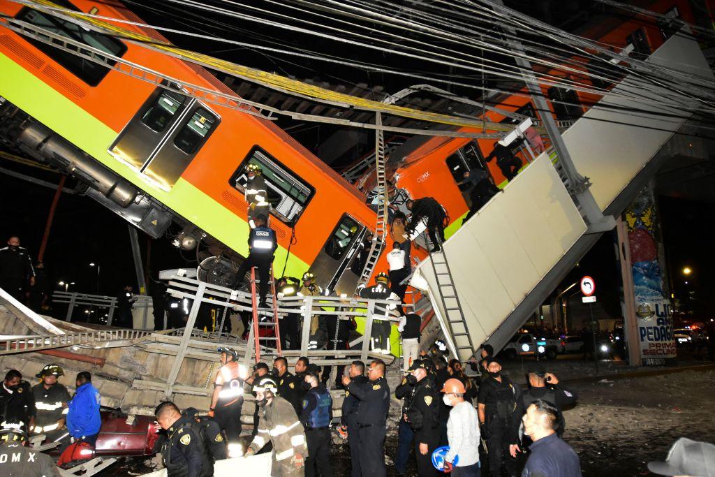 MEXICO-ACCIDENT-TRAIN