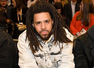 J.Cole Attends The 69th NBA All-Star Game