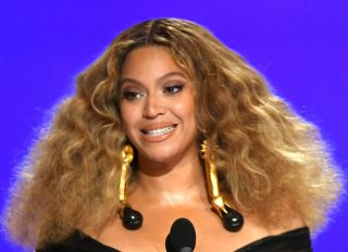 Beyonce at the 63rd Annual GRAMMY Awards