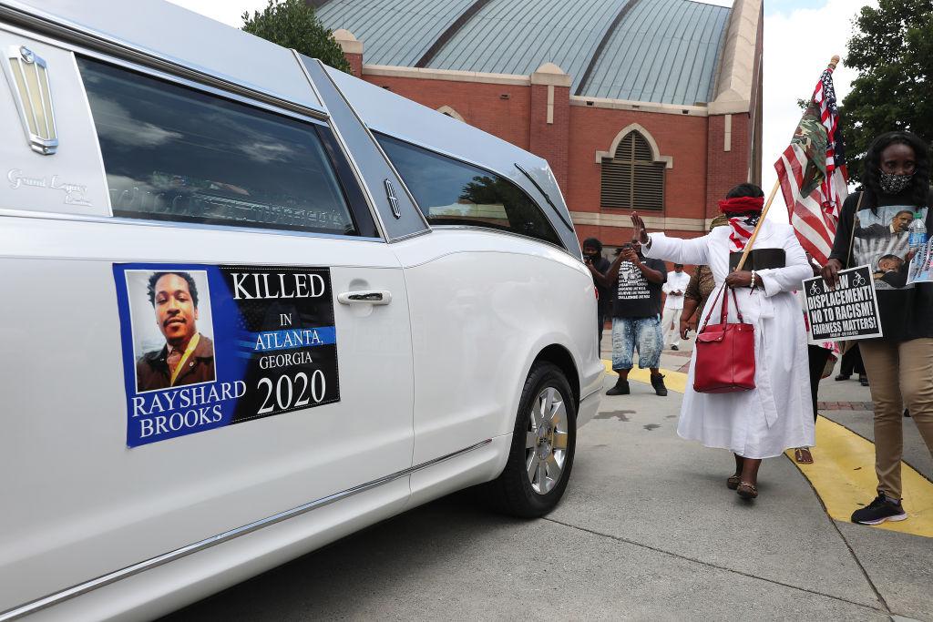 Funeral Held For Rayshard Brooks In Atlanta
