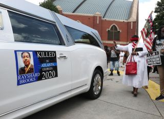 Funeral Held For Rayshard Brooks In Atlanta