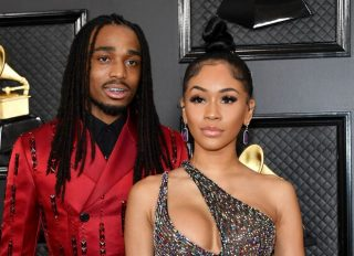 Saweetie and Quavo at the 62nd Annual GRAMMY Awards