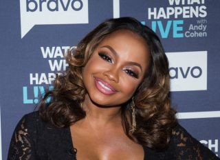 Phaedra Parks on Watch What Happens Live with Andy Cohen