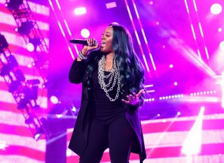 Coko Clemons Performs at 2019 Essence Festival