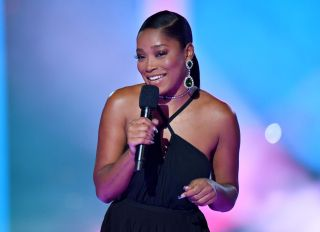 Keke Palmer at the 2020 MTV Video Music Awards