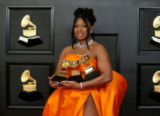 Megan Thee Stallion at The 63rd Annual Grammy Awards