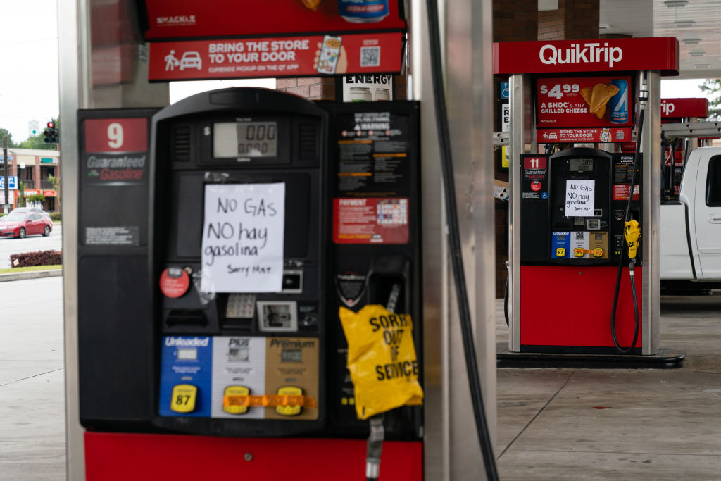 For Your Information: 70% Of Atlanta Gas Stations Are Gas-less After Colonial Pipeline Hack, Prices High As Giraffe A$$
